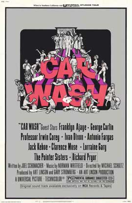 Car Wash - 11 x 17 Movie Poster - Style B