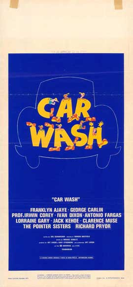 Car Wash - 11 x 17 Movie Poster - Italian Style A