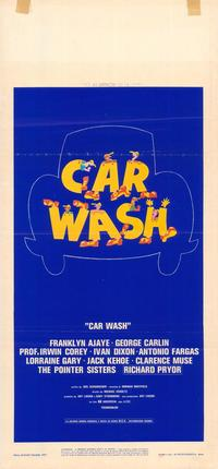 Car Wash - 39 x 55 Movie Poster - Italian Style A