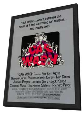 Car Wash - 11 x 17 Movie Poster - Style A - in Deluxe Wood Frame