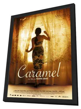 Caramel - 27 x 40 Movie Poster - German Style A - in Deluxe Wood Frame