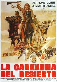 Caravans - 27 x 40 Movie Poster - Puerto Rico Style A