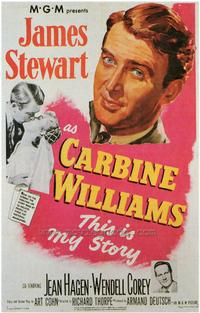 Carbine Williams - 43 x 62 Movie Poster - Bus Shelter Style A