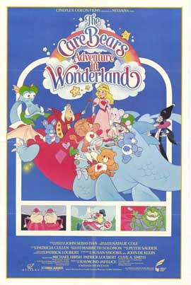 Care Bears Adventure in Wonderland - 27 x 40 Movie Poster - Style A