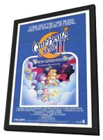 Care Bears Movie II A New Generation - 11 x 17 Movie Poster - Style A - in Deluxe Wood Frame
