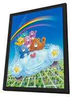 Care Bears - 27 x 40 Movie Poster - Style B - in Deluxe Wood Frame