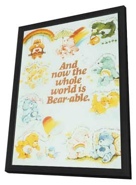 Care Bears - 11 x 17 Movie Poster - Style A - in Deluxe Wood Frame