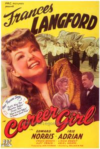 Career Girl - 43 x 62 Movie Poster - Bus Shelter Style A
