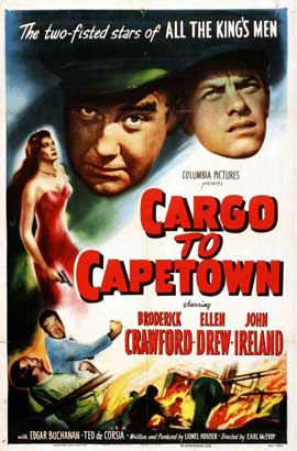 Cargo to Capetown - 11 x 17 Movie Poster - Style A