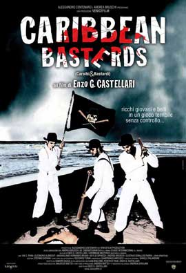 Caribbean Basterds - 11 x 17 Movie Poster - Italian Style A
