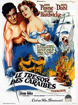 Caribbean - 11 x 17 Movie Poster - French Style A