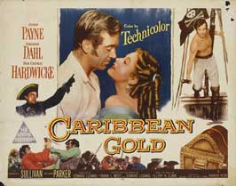 Caribbean - 22 x 28 Movie Poster - Half Sheet Style A