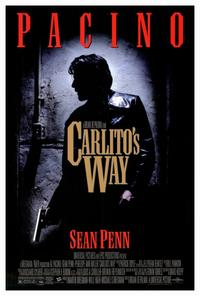 Carlito's Way - 27 x 40 Movie Poster - Style A