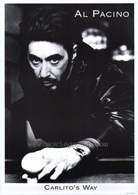 Carlito's Way - 43 x 62 Movie Poster - Bus Shelter Style A
