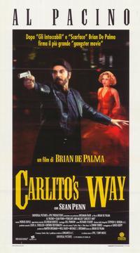 Carlito's Way - 11 x 17 Movie Poster - Italian Style A