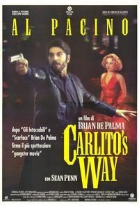 Carlito's Way - 27 x 40 Movie Poster - Italian Style C