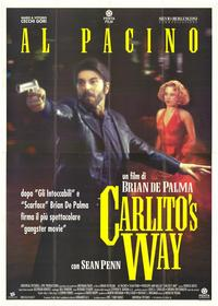 Carlito's Way - 11 x 17 Movie Poster - Italian Style C