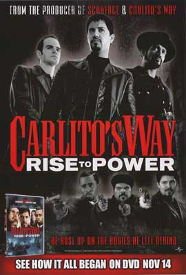 Carlito's Way: Rise to Power - 11 x 17 Movie Poster - Style A
