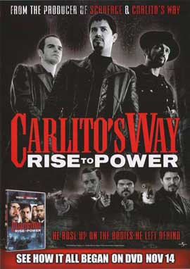 Carlito's Way: Rise to Power - 27 x 40 Movie Poster - Style A