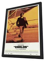 Carlos (TV) - 11 x 17 Movie Poster - Style A - in Deluxe Wood Frame