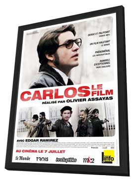 Carlos (TV) - 27 x 40 Movie Poster - French Style A - in Deluxe Wood Frame