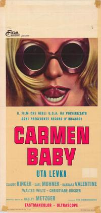 Carmen, Baby - 27 x 40 Movie Poster - Italian Style A