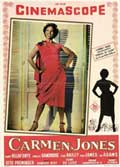 Carmen Jones - 11 x 17 Movie Poster - Italian Style A