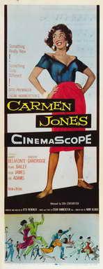 Carmen Jones - 14 x 36 Movie Poster - Insert Style A
