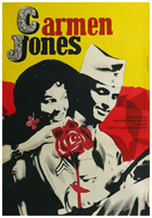 Carmen Jones - 11 x 17 Movie Poster - Czchecoslovakian Style A