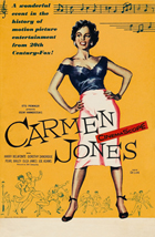 Carmen Jones - 11 x 17 Movie Poster - UK Style A
