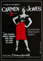 Carmen Jones - 11 x 17 Movie Poster - German Style B