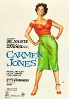 Carmen Jones - 27 x 40 Movie Poster - Spanish Style A