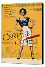 Carmen Jones - 11 x 17 Movie Poster - UK Style A - Museum Wrapped Canvas
