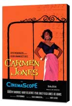 Carmen Jones - 27 x 40 Movie Poster - Style A - Museum Wrapped Canvas