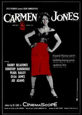 Carmen Jones - 11 x 17 Movie Poster - Style B
