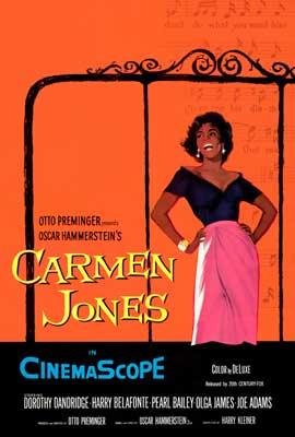 Carmen Jones - 27 x 40 Movie Poster - Style A