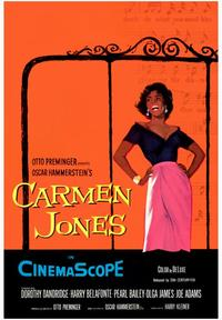 Carmen Jones - 43 x 62 Movie Poster - Bus Shelter Style A