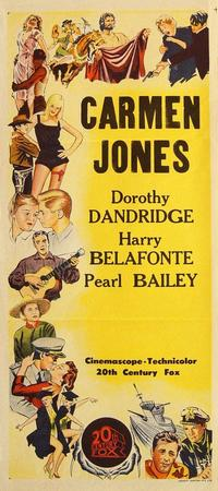 Carmen Jones - 14 x 36 Movie Poster - Australian Style A