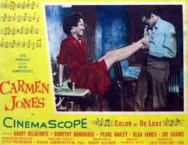 Carmen Jones - 11 x 14 Movie Poster - Style B