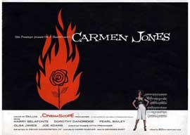 Carmen Jones - 11 x 17 Movie Poster - Style D