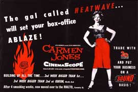 Carmen Jones - 11 x 17 Movie Poster - Style G