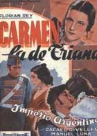 Carmen, la de Triana - 11 x 17 Movie Poster - Spanish Style B