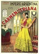 Carmen, la de Triana - 11 x 17 Movie Poster - Spanish Style C