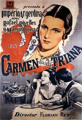 Carmen, la de Triana - 11 x 17 Movie Poster - Spanish Style A