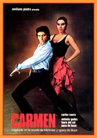 Carmen - 11 x 17 Movie Poster - Spanish Style B
