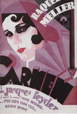 Carmen - 27 x 40 Movie Poster - French Style B