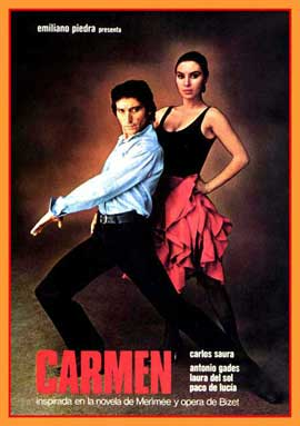 Carmen - 27 x 40 Movie Poster - Spanish Style A