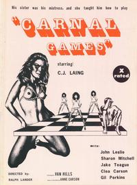 Carnal Games - 27 x 40 Movie Poster - Style A