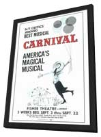 Carnival (Broadway) - 11 x 17 Poster - Style A - in Deluxe Wood Frame