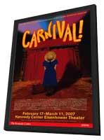 Carnival (Broadway) - 14 x 22 Poster - Style A - in Deluxe Wood Frame